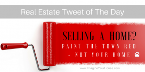 Real Estate Tip when selling a home