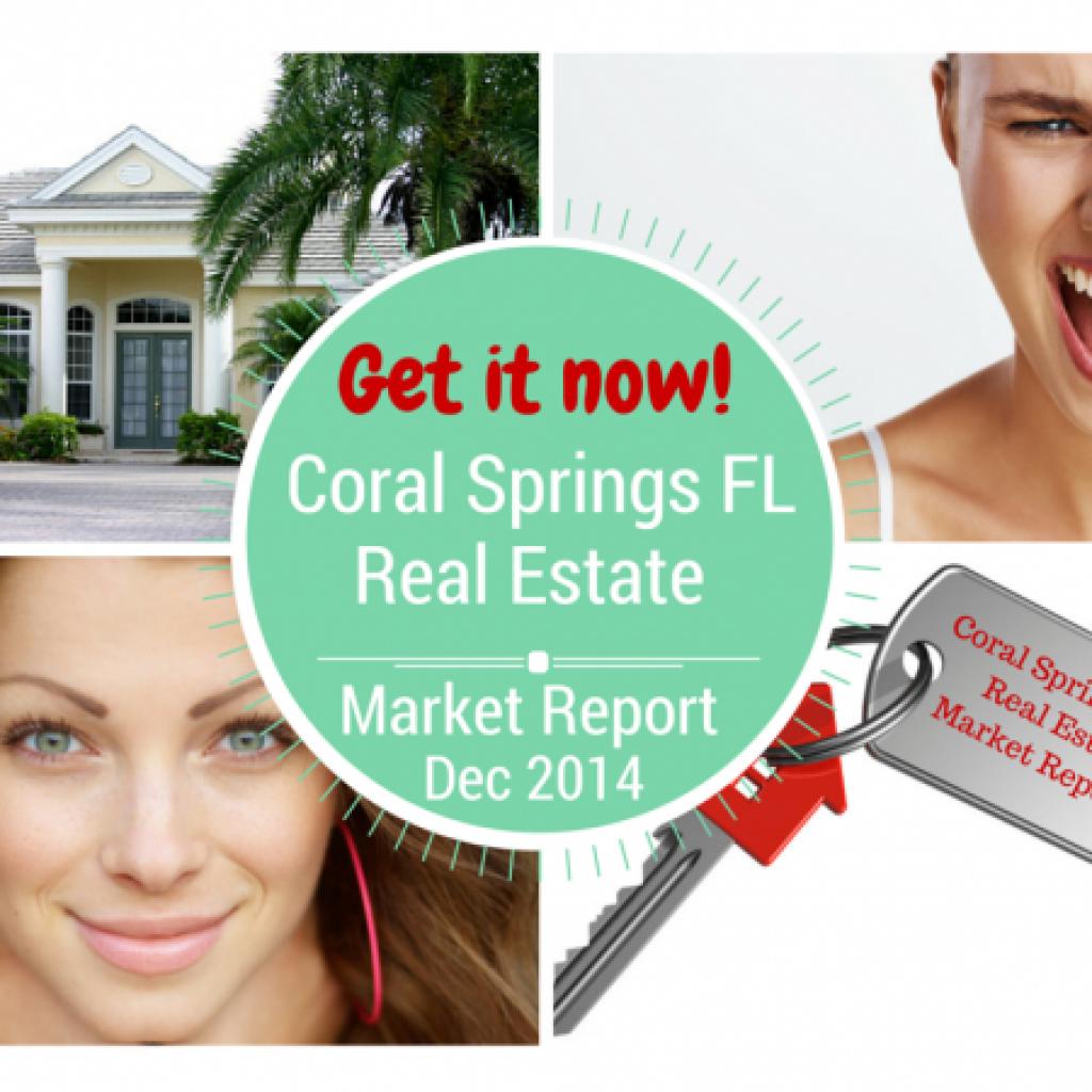 Real Estate Market Statistics for Coral Springs FL