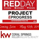 Red Day in Coral Springs Florida