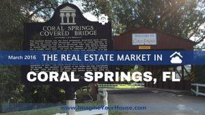 Home Sales in Coral Springs FL Mar 2016