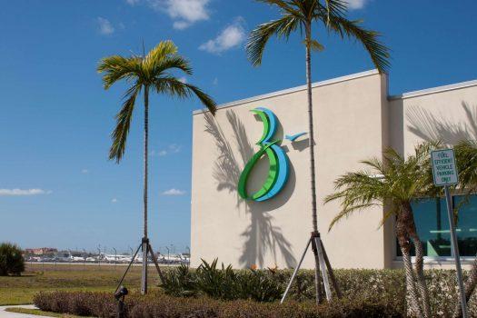 Airport in Boca Raton Florida