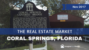 Coral Springs Real Estate Agent reporting on Coral Springs market