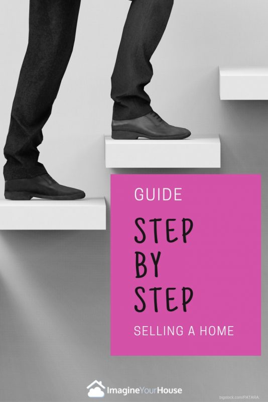 What are the steps to selling a house