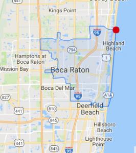 East Boca Raton FL city limits Real Estate