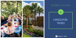 Landscaping trends when selling a home