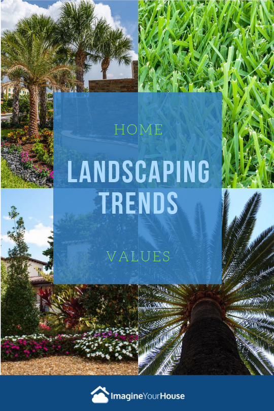Landscaping when selling a home