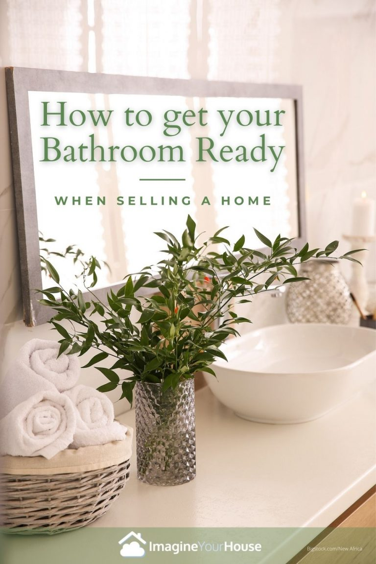 Sell home and bathroom prep