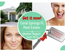 Coral Springs FL Real Estate Market Report Sept 2014
