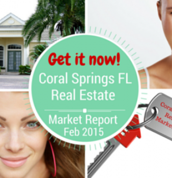 Coral Springs Real Estate Report for February 2015
