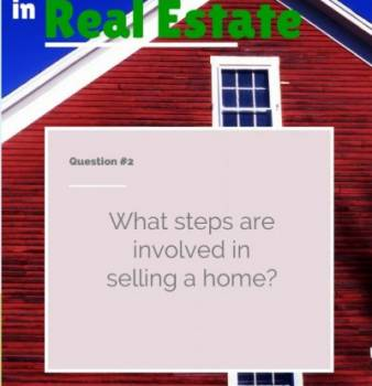 What steps are involved in selling a home?