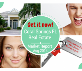 Coral Springs Real Estate Market Report Aug 2015