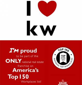 Keller Williams Realty, Inc. Named One of America's Top Workplaces