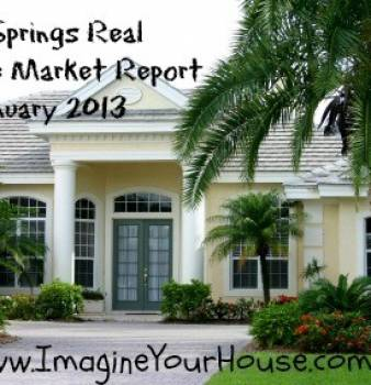 Coral Springs FL Real Estate Market Report  for January 2013
